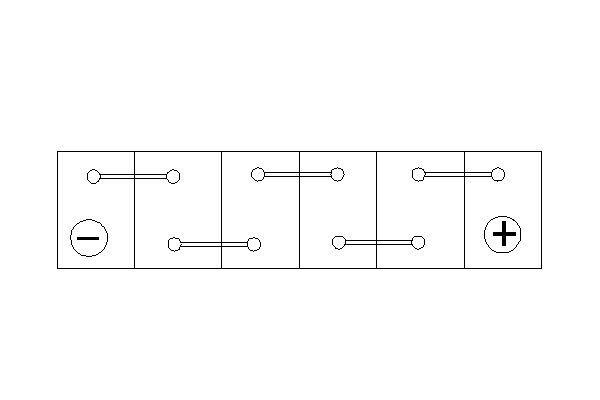 Batteria Avviamento Bosch 0092S40010 44Ah 440A