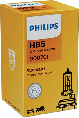 tecdoc - Philips Lampadina 9007C1